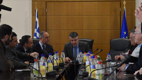 Επίσκεψη του Υφυπουργού Μακεδονίας και Θράκης στο Επιμελητήριο Έβρου