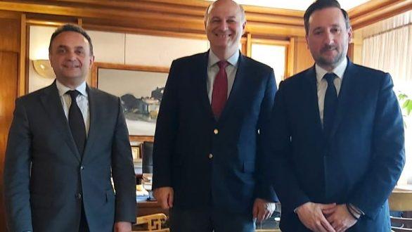 Συνάντηση Κελέτση – Ζαμπούκη με τον Υπουργό Δικαιοσύνης για ανέγερση νέου Δικαστικού Μεγάρου στην Αλεξανδρούπολη