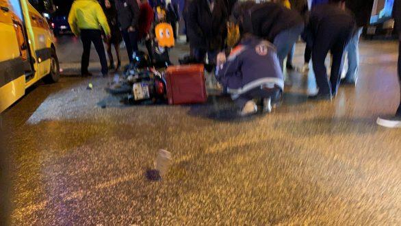 Τροχαίο ατύχημα στην Ορεστιάδα – Σύγκρουση ΙΧ με δίκυκλο εργαζόμενου διανομέα