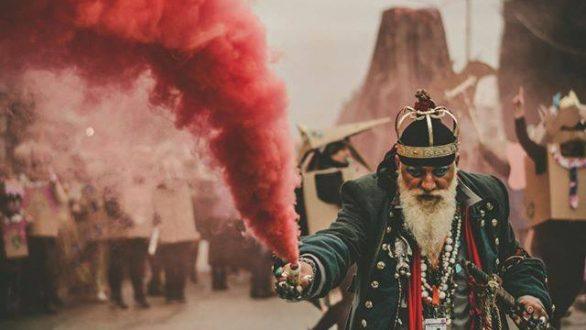 Έκλεψε τις εντυπώσεις και φέτος η παρέλαση του Τσικνομπουρμπούλη