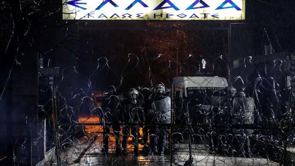 """Κινητικότητα στις Καστανιές για ενδεχόμενο """"ντου"""" μεταναστών"""