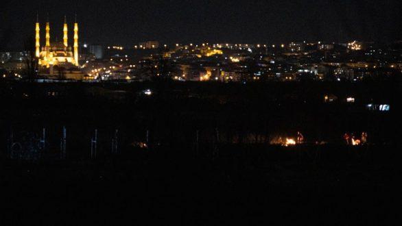 Νύχτα έντασης η χθεσινή στις Καστανιές