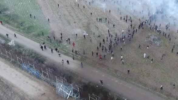 Και πάλι προσπάθησαν να ρίξουν τον φράχτη στις Καστανιές