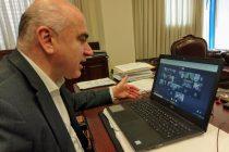 Τηλεδιάσκεψη του Περιφερειάρχη για μέτρα προστασίας στον Εχίνο