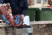 Ταΐστρες για τα αδέσποτα ζώα τοποθετήθηκαν σε σημεία της Αλεξανδρούπολης
