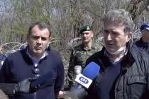 Στις Καστανιές βρέθηκαν σήμερα Παναγιωτόπουλος και Χρυσοχοΐδης