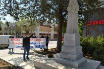 Με κατάθεση στεφανιού τίμησε την Πρωτομαγιά το ΚΚΕ Ορεστιάδας