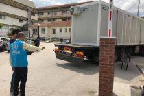 Δωρεά οικίσκου στο Νοσοκομείο Διδυμοτείχου από την Ύπατη Αρμοστεία του ΟΗΕ για τους πρόσφυγες
