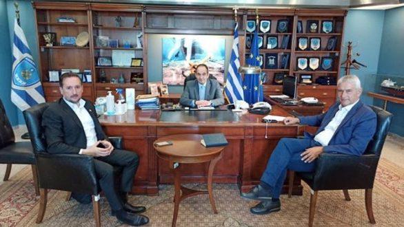 Συνάντηση του Δημάρχου Αλεξανδρούπολης με τον Υπουργό Ναυτιλίας και Νησιωτικής Πολιτικής