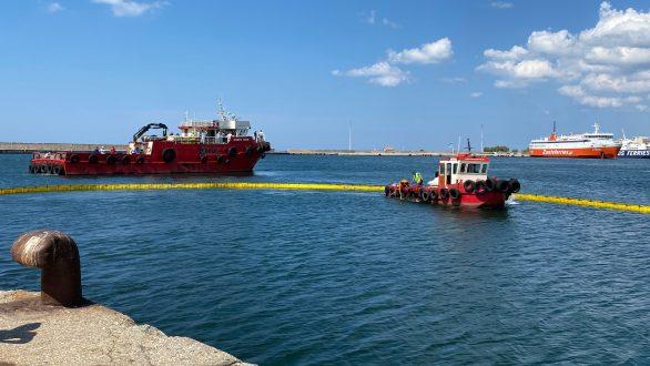 Άσκηση καταπολέμησης ρύπανσης πραγματοποιήθηκε στο λιμάνι της Αλεξανδρούπολης