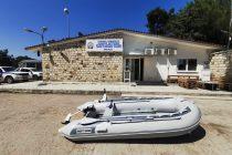 Δωρεά εξωλέμβιας βάρκας στο Τμήμα Συνοριακής Φύλαξης Χειμωνίου