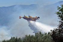 Χωρίς ενεργό μέτωπο η πυρκαγιά στις Σάπες
