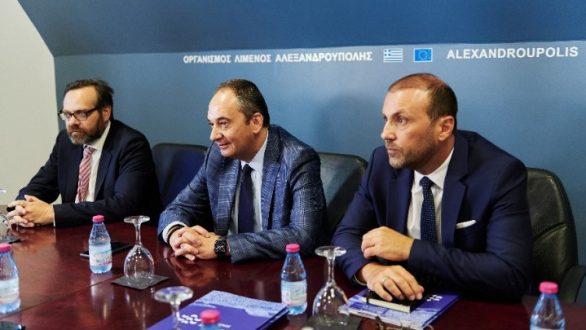 Γ. Πλακιωτάκης από Αλεξανδρούπολη: «Δεν μιλάμε για κανένα ξεπούλημα λιμανιού»