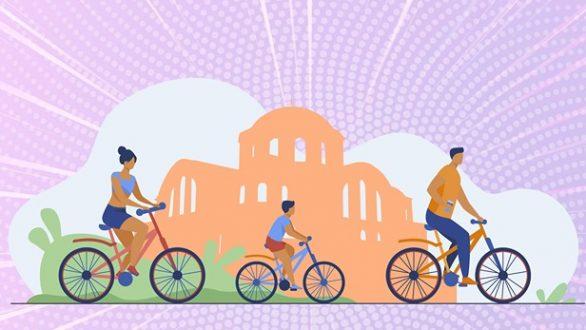 Ποδηλατοβόλτα στις Φέρες