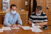 Υπογραφή σύμβασης έργου για την αντικατάσταση του εσωτερικού δικτύου ύδρευσης Φερών