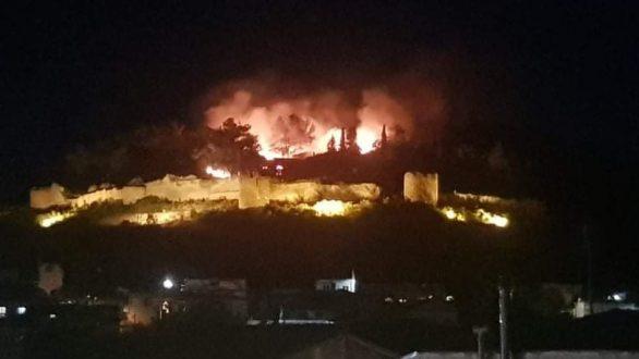 Πως σώθηκαν τα μνημεία του Καλέ από την πυρκαγιά