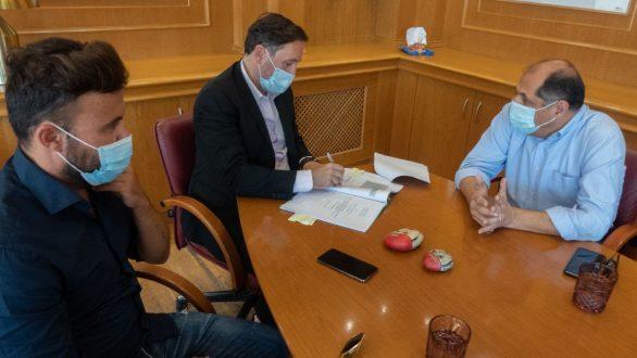Υπογραφή σύμβασης για εργασίες συντήρησης στο λιμάνι της Αλεξανδρούπολης