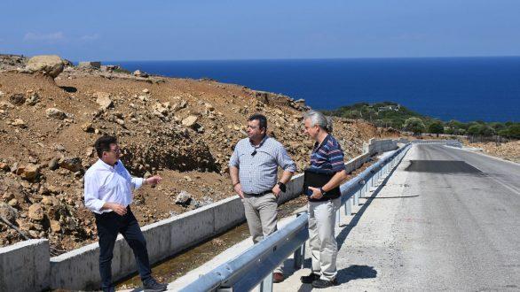 Δ. Πέτροβιτς: Τα έργα στο οδικό δίκτυο της Σαμοθράκης προχωρούν με ικανοποιητικούς ρυθμούς