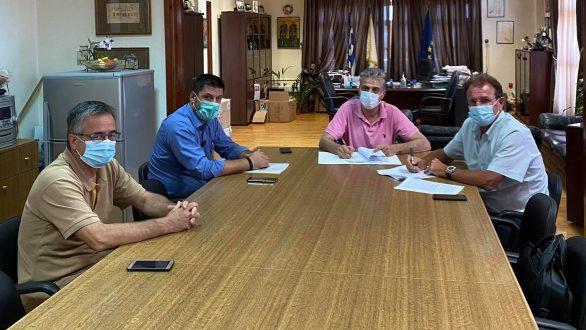Έπεσαν οι υπογραφές για την ασφαλτόστωση της ΒΙ.ΠΕ – Πύργος Ορεστιάδας