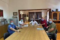 Υπεγράφη η σύμβαση για την κατασκευή πεζοδρομίων στην Ορεστιάδα