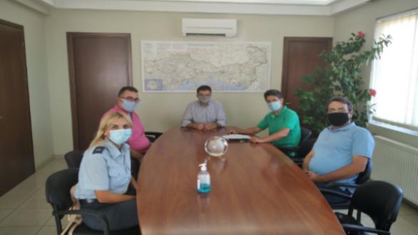 Συνάντηση της Ένωσης Αστυνομικών Υπαλλήλων Αλεξανδρούπολης με τον Δ. Πέτροβιτς