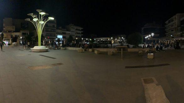 Χάος εχθές το βράδυ στην πλατεία Ορεστιάδας