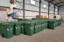 Προμήθεια 173 νέων κάδων στον Δήμο Σουφλίου