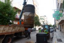 Αλεξανδρούπολη: Στην απομάκρυνση δύο ημιυπόγειων κάδων προχώρησε η δημοτική αρχή