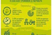 WWF: Τεράστια σπατάλη τροφίμων: 88 εκατ. τόνοι τροφής καταλήγουν στα σκουπίδια ετησίως στην ΕΕ
