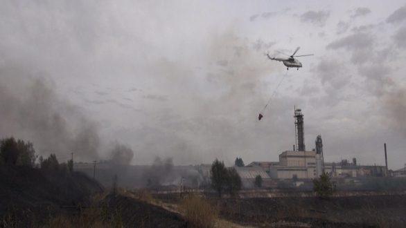 150 στρέμματα χορτολιβαδικής έκτασης έκαψε η πυρκαγιά στην ΒΙ.ΠΕ. Ορεστιάδας