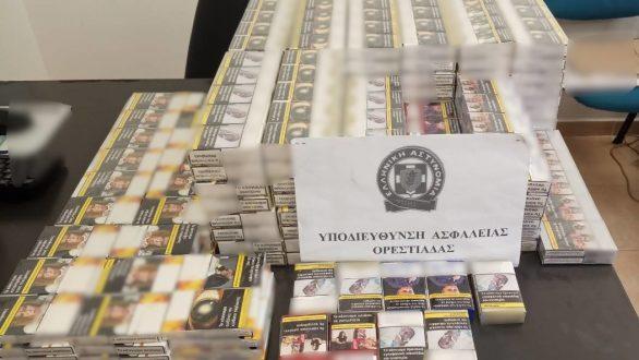 Ορεστιάδα: Συνελήφθησαν 3 άτομα με 499 πακέτα λαθραίων τσιγάρων και μικροποσότητα κάνναβης