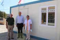 Με οικίσκους isobox εξοπλίζει η Περιφέρεια ΑΜΘ το Νοσοκομείο Κομοτηνής και τα Κέντρα Υγείας Σαπών και Σαμοθράκης