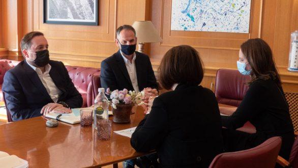 Εθιμοτυπική επίσκεψη της Πρέσβειρας της Σλοβακίας στον Δήμαρχο Αλεξανδρούπολης
