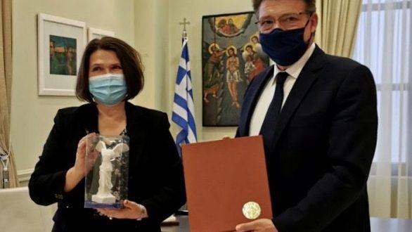 Συνάντηση με την Πρέσβειρα της Σλοβακίας στην Αθήνα είχε ο Αντιπεριφερειάρχης Έβρου