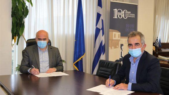 Υπογράφηκε η σύμβαση για την ενοποίηση του παραλιακού μετώπου Ροδόπης και Έβρου