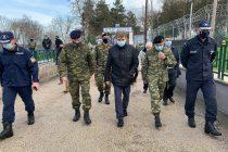 Τις Καστανιές επισκέφθηκε ο Υπουργός Προστασίας του Πολίτη Μιχάλης Χρυσοχοΐδης