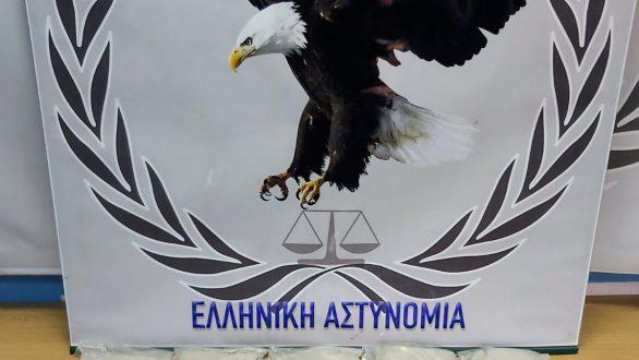 Συνελήφθη αλλοδαπός ο οποίος εισήγαγε πάνω από 3 κιλά ηρωίνης στην Ελληνική Επικράτεια