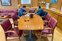 Τον βουλευτή ΝΔ Ν.Έβρου Σταύρο Κελέτση υποδέχτηκε στο γραφείο του ο Δήμαρχος Αλεξανδρούπολης