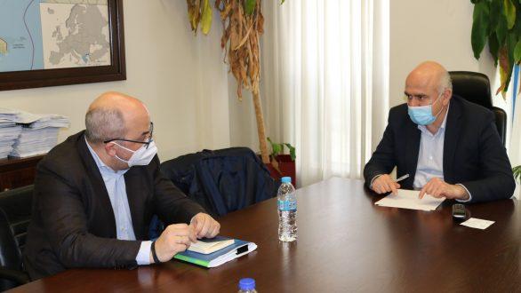 To έργο φυσικού αερίου στο επίκεντρο της συνάντησης του Περιφερειάρχη ΑΜΘ με τον Διευθύνοντα Σύμβουλο της ΔΕΔΑ
