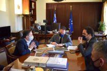Ο Δήμαρχος Αλεξανδρούπολης στον Αν. Υπουργό Εσωτερικών Στ. Πέτσα