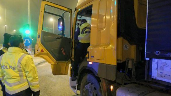 Ορεστιάδα: 72 φορτηγά με αλλοιωμένους ταχογράφους εντοπίστηκαν το 2020