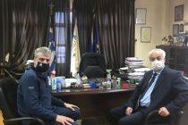 Συνάντηση του Δημάρχου Ορεστιάδας και του Πρύτανη του Δημοκριτείου Πανεπιστημίου Θράκης