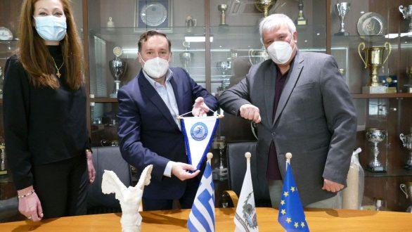 Μνημόνιο συνεργασίας της Ελληνικής Ομοσπονδίας Πετοσφαίρισης με τον Δήμο Αλεξανδρούπολης