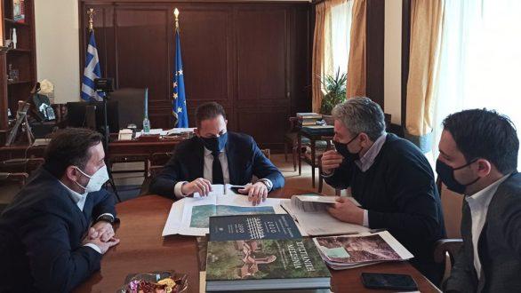 Συνάντησή Δημάρχου Αλεξανδρούπολης  με τον αναπληρωτή Υπουργό Εσωτερικών στην Αθήνα