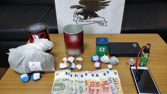 Συλλήψεις για κατοχή και διακίνηση ναρκωτικών σε Έβρο και Καβάλα