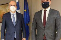 Συνάντηση Χρήστου Δερμεντζόπουλου με τον Υπουργό Εργασίας και Κοινωνικών Υποθέσεων