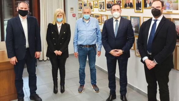 Συνάντηση του Δημάρχου Αλεξανδρούπολης με το ΚΙΣΕ για την ανάδειξη των εβραϊκών κοιμητηρίων στην Αλεξανδρούπολη