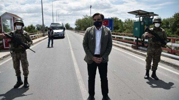 Μ. Σχοινάς: Το σύνορο στον Έβρο είναι ευρωπαϊκό, που θα φυλάσσεται, και ένα σύμβολο των ευρωπαϊκών αξιών