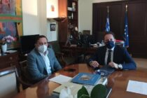 Συναντήσεις Ζαμπούκη με υπουργούς και κυβερνητικά στελέχη στην Αθήνα