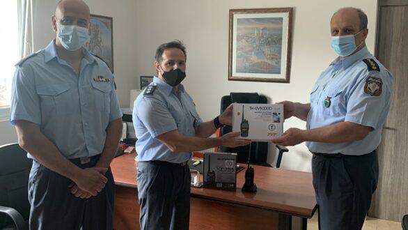 Δωρεά ασυρμάτων στα Αστυνομικά Τμήματα Ορεστιάδας και Τριγώνου από την Ένωση Αξιωματικών ΕΛ.ΑΣ. ΑΜΘ